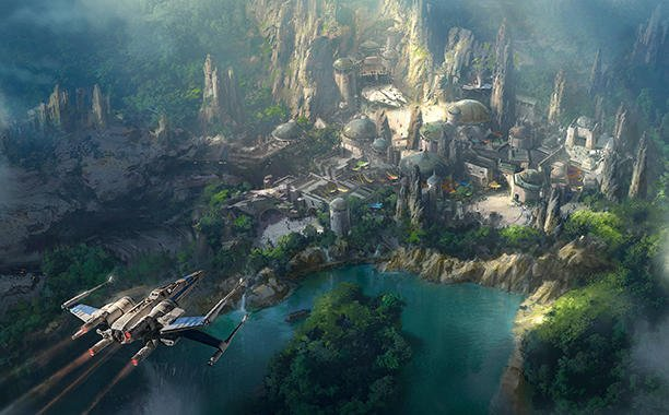 Get a closer look at 'Star Wars Land':