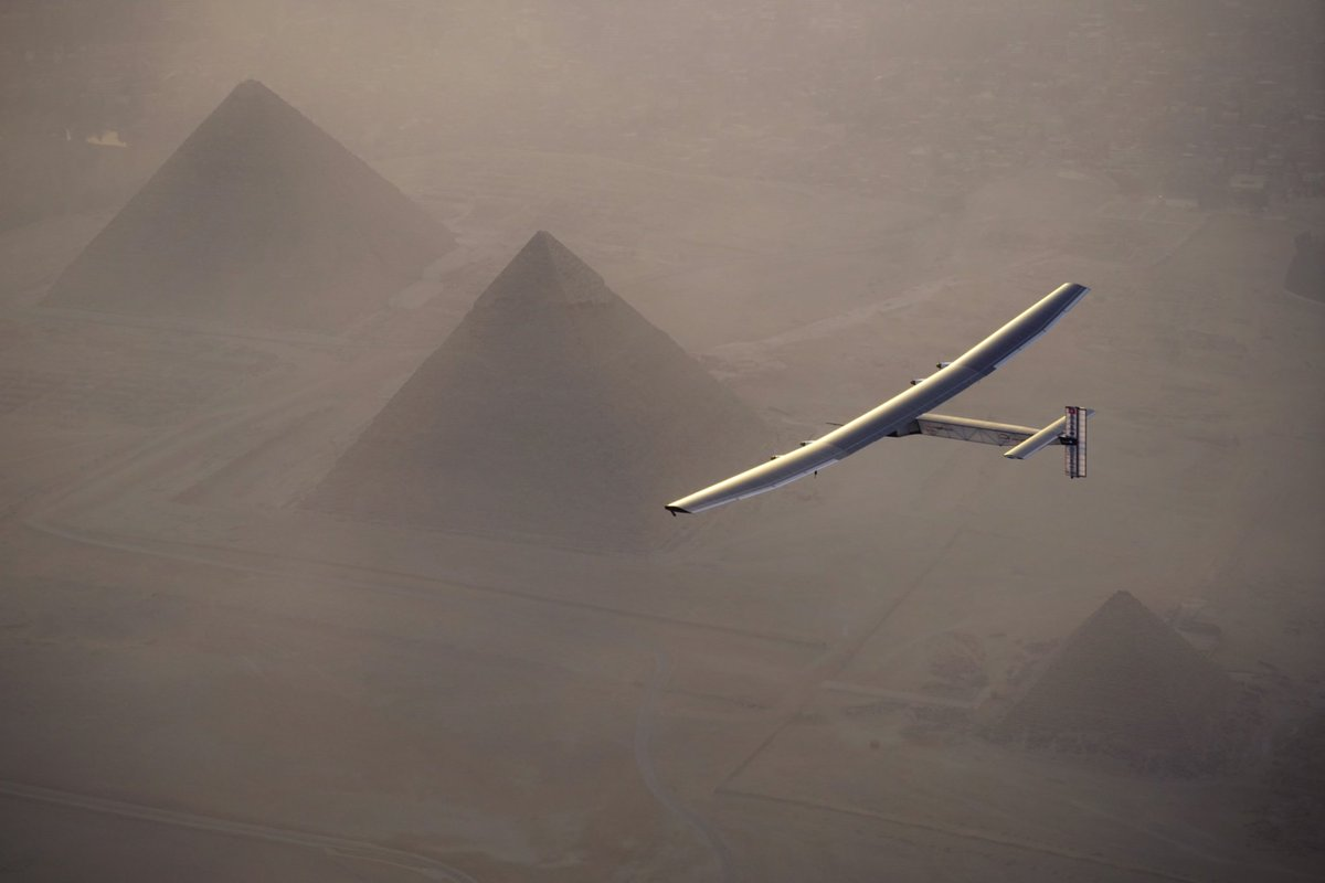 RT @solarimpulse: From the new world of cleantech to the ancient world of solar worship