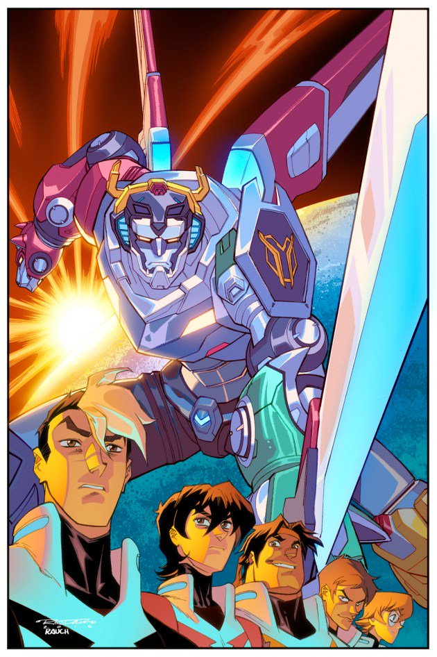 Voltron: Legenday Defender 1 out today from @lionforge! Cover by me and @John_Rauch. https://t.co/h5UGwzITIA