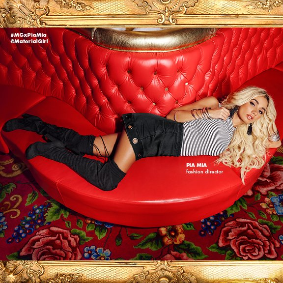 Discover @MaterialGirl's fall collection, which features Pia Mia as fashion director! @Macys #MGxPiaMia https://t.co/erEKsCwTze