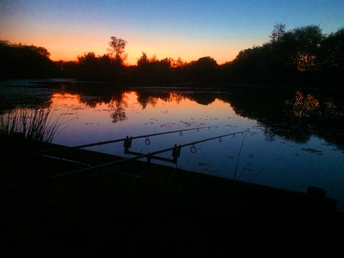 4 swims are now open for night fishing! 24 hour session £20. Call 01637 882405 #Cornwall #nightfish