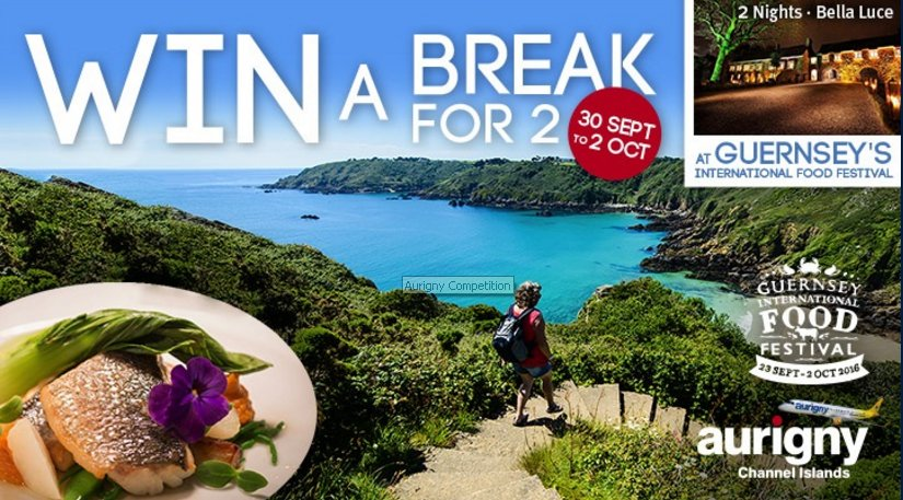 WIN a spa break for two to Guernsey with Aurigny! Enter now
