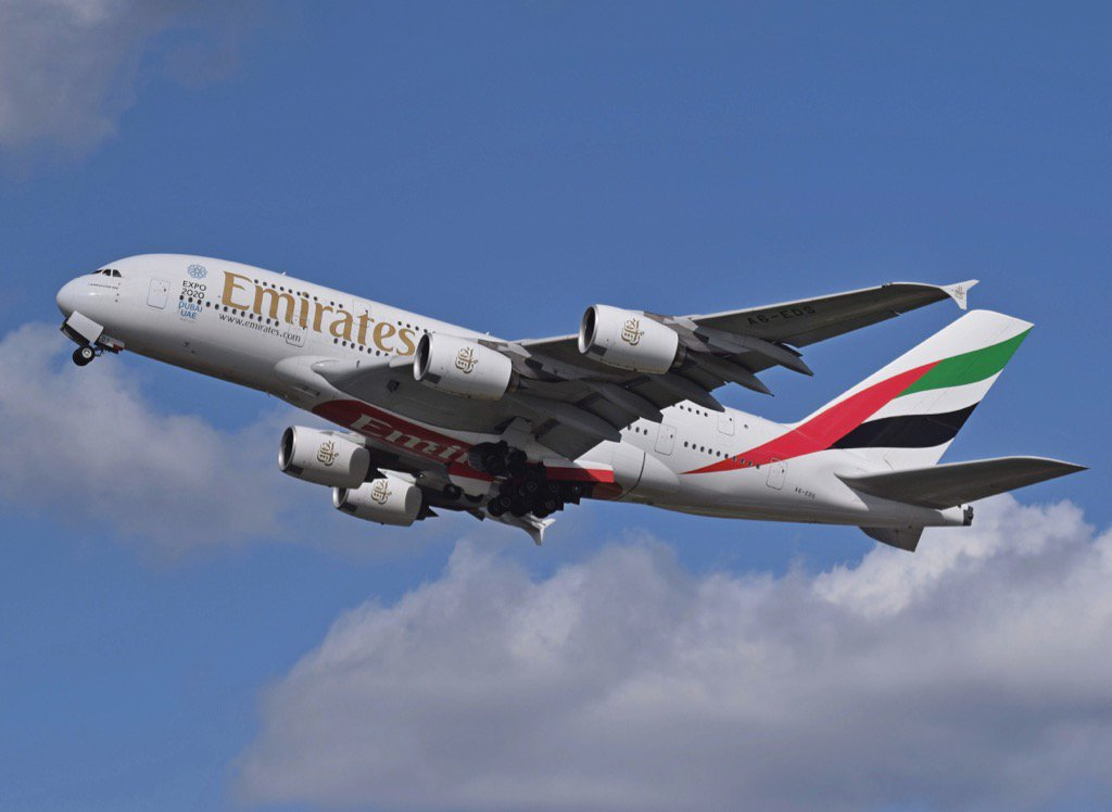 Emirates airlines now best in the world