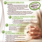 Inscripciones 2016 ESTUDIOS #BÍBLICOS Fundación Sobicain * #Caracas * (212) 5767662 * @sobicain https://t.co/R0U1SkW6vU #Biblia