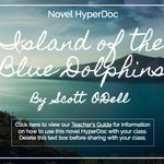 Island of the Blue Dolphins #Hyperdoc: https://t.co/jzzLz4FfWs collab w/@MicheleWagg @TsGiveTs #ditchbook #caedchat https://t.co/iLCq88dt6R