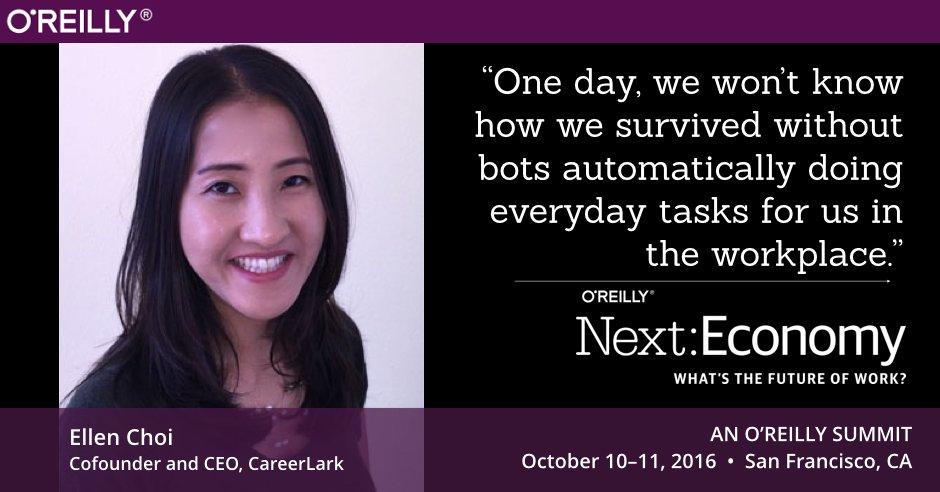 Cofounder & CEO of  @careerlark @LNchoi joins #NextEconomy lineup to discuss #FutureofWork https://t.co/51pTZjB7K0 https://t.co/6MWqCIAXEr
