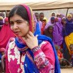 Photos of 19-year-old Nobel peace prize winner celebrating birthday in Kenya