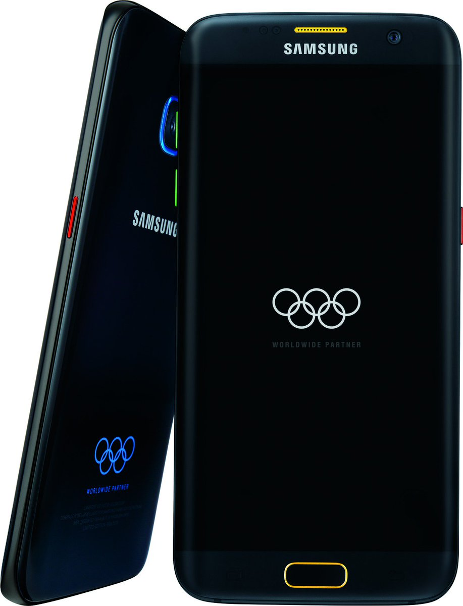 Get the NEW Samsung Galaxy S7 Edge Olympic edition! Available at @BestBuy only on 7/18! https://t.co/u7H7toNeKM #ad https://t.co/XKGfI8udJ5