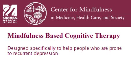 #Mindfulness Based Cognitive #Therapy @umasscfm, seats available, https://t.co/Hv5uM2zflV https://t.co/4nBzVuJKx1