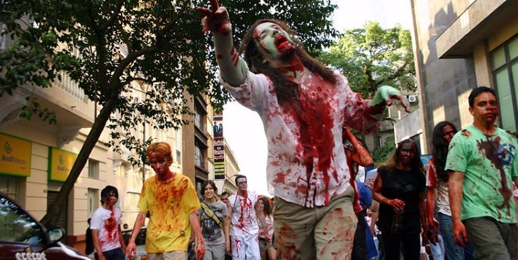North America's 10 Best Zombie Walks
