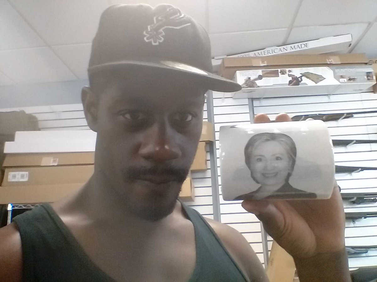 Hillary for toilet paper!!! Wipe with this #toiletpaper #hillaryforprison #votetrump https://t.co/qU86SqbqBJ