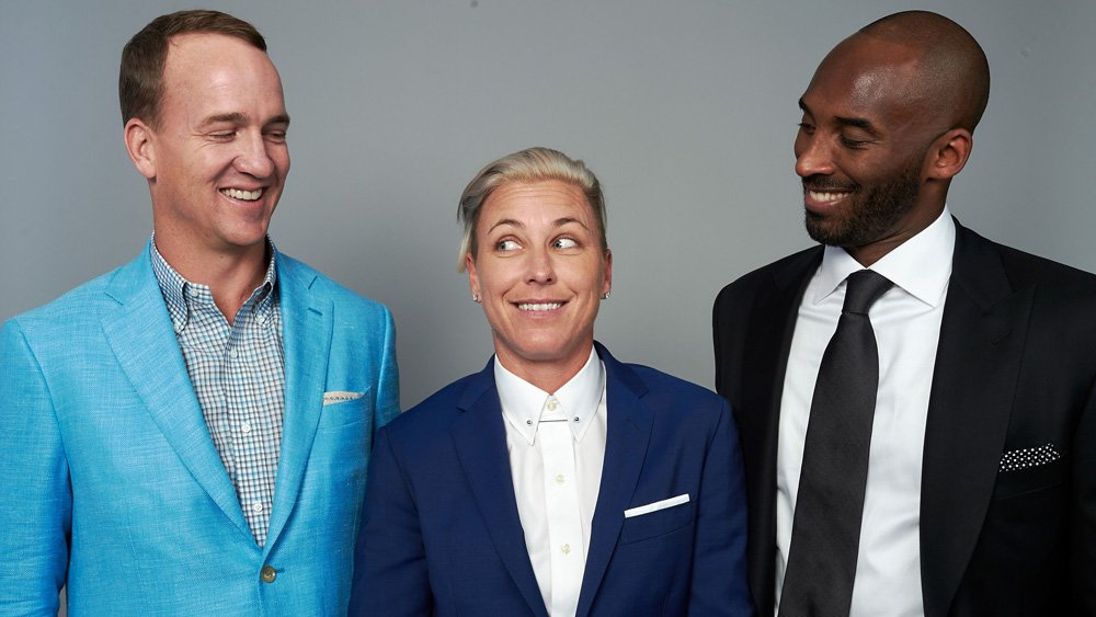 ESPYs: Justin Timberlake presents Kobe Bryant, Peyton Manning, Abby Wambach with Icon Award