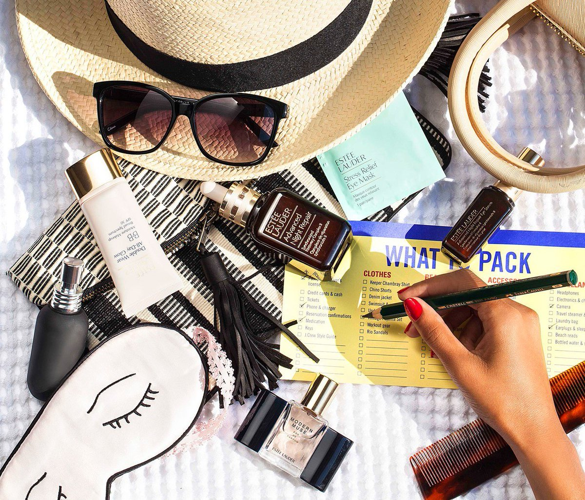 Find all your EsteeEssentials for summer getaways at @WorldDutyFree! Shop now:
