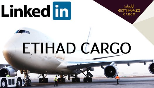 Stay up-to-date with the latest on innovations, products & news from EtihadCargo  Join now:
