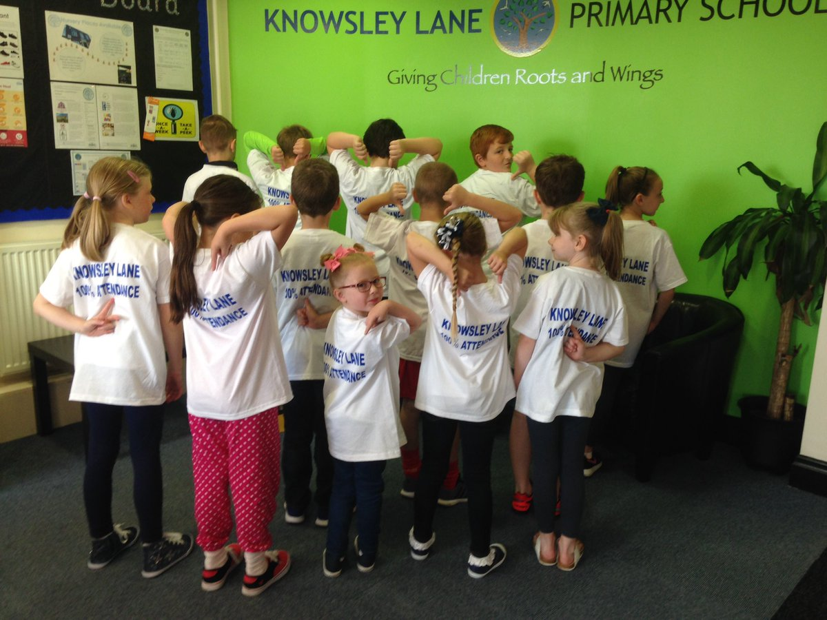 Knowsley Lane100% attendance trip. Where are we going? #100% #Knowsley #rewardingattendance https://t.co/9EAKIHyaqJ