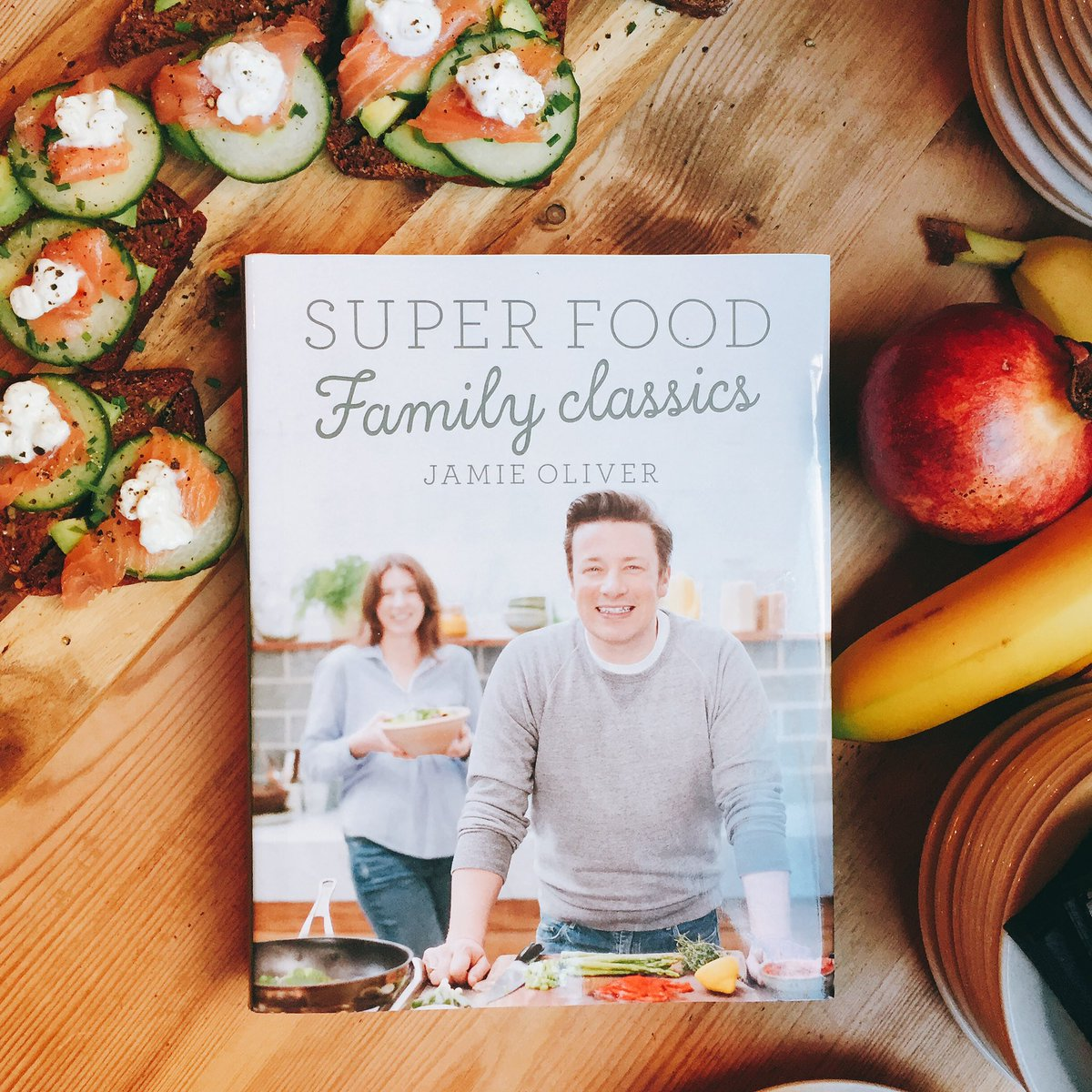 RT @jamiesfoodfdn: Lovely breakfast to celebrate @jamieoliver 's new book. Thank you to @jamiesfifteen for hosting us #FamilySuperFood http…