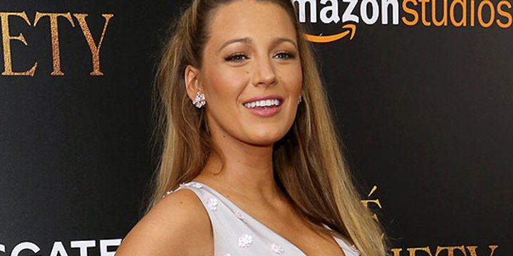She's got the glow! Pregnant Blake Lively steps out for CaféSociety premiere