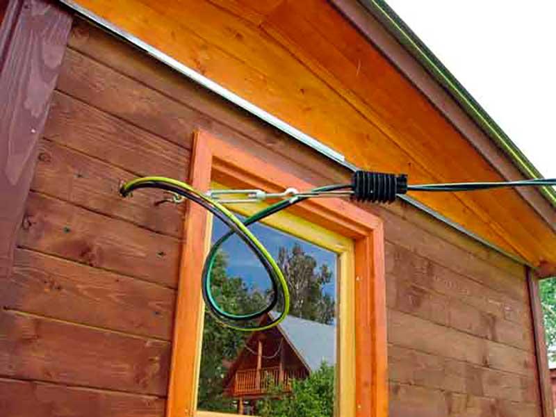 Как сделать электрический столб