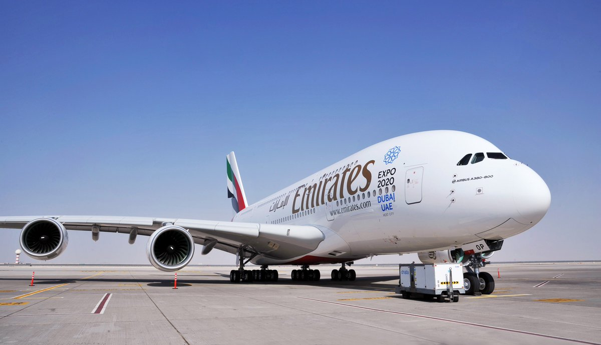 Can't Wait MT @emirates: Emirates will operate a one-off @Airbus A380 flight to ORD on 7/19