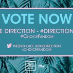 The guys are nominated for #ChoiceFandom at this years #TeenChoice awards !! RT to vote @onedirection. https://t.co/Jpces7K8iy