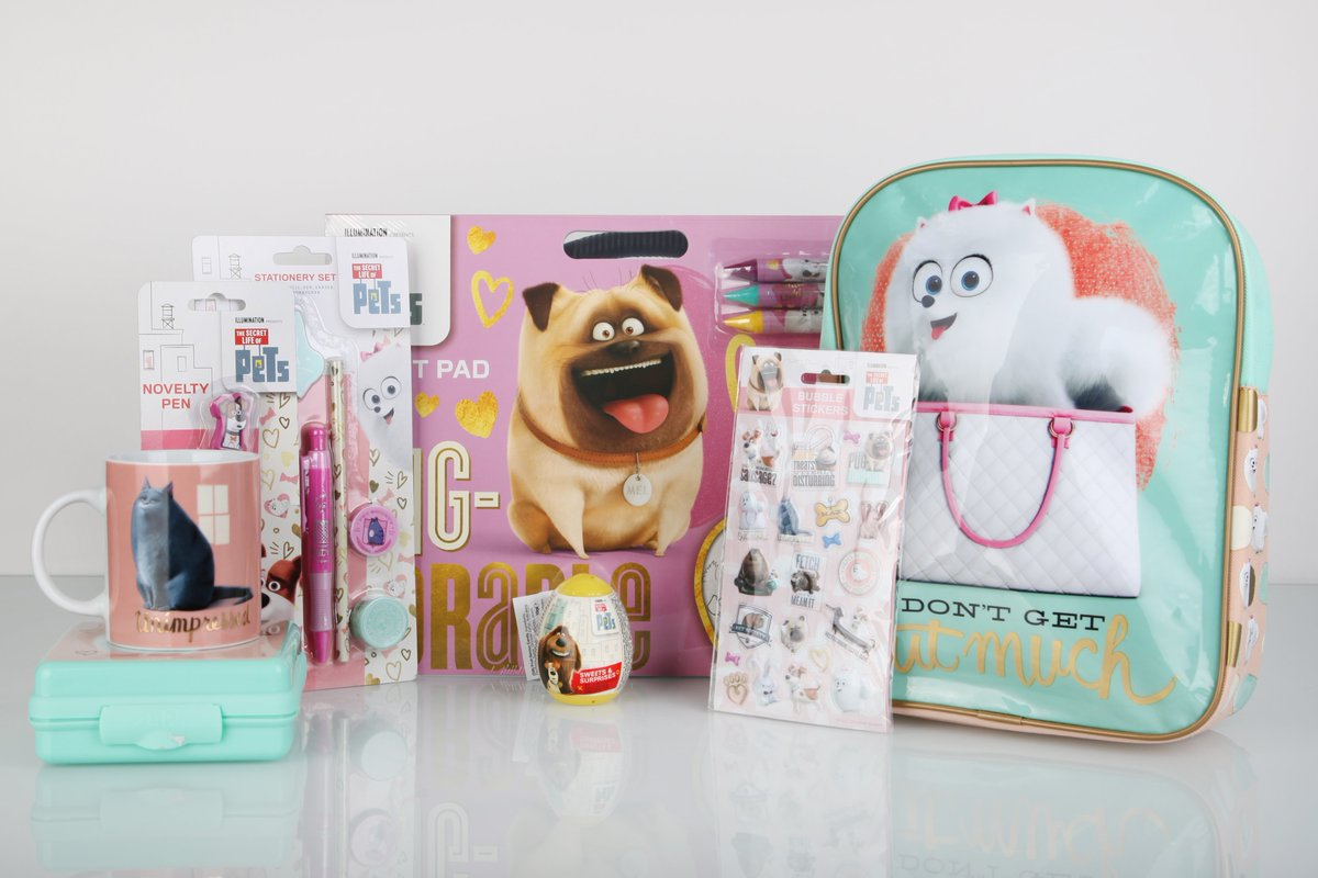 Who would like this bundle of #SecretLifeOfPets Goodies? Follow and RT before midday on Wednesday 20th July *UK only https://t.co/yZxojjxHOM
