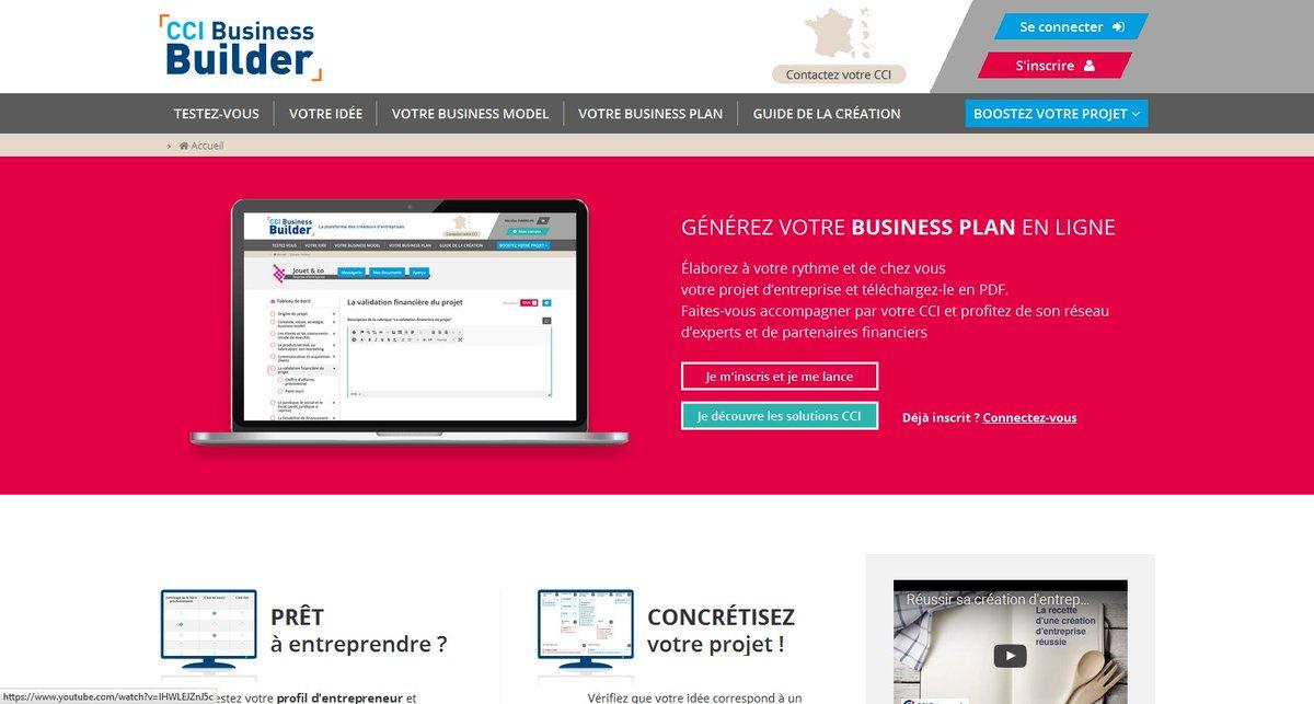 outil cci business builder faites votre bp en ligne