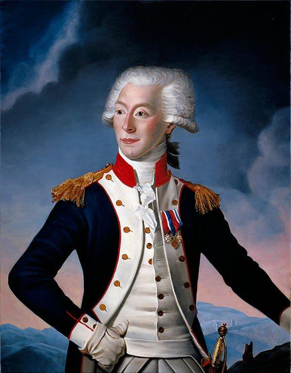 """I helped #Lafayette draft a declaration/Then I said, I gotta goI gotta be in Monticello."" #BastilleDay! #HamilTunes https://t.co/GOtB2gxV3W"