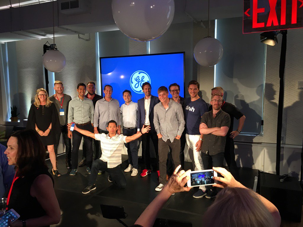 Great finish from all the startups at #appfronts thx GE! https://t.co/AGz4Dk5vN7