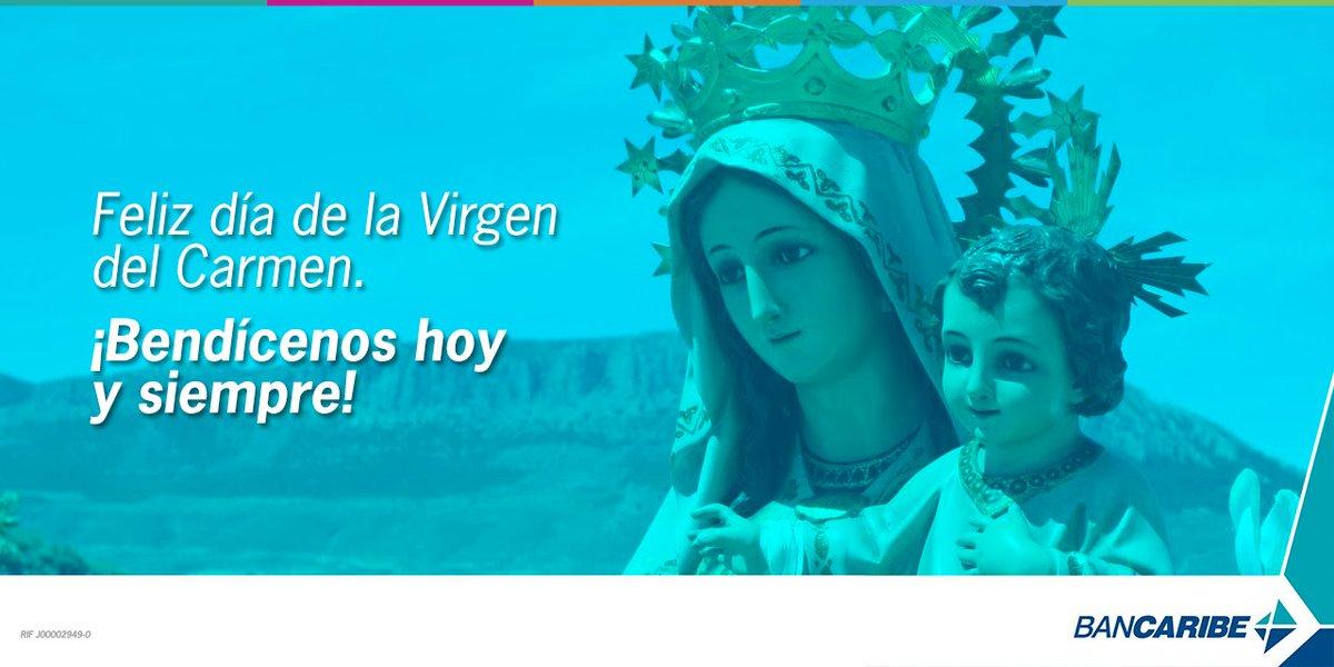¡Feliz día de la Virgen del Carmen! Hoy nos encomendamos a ti y pedimos tu protección. #VirgenDelCarmen https://t.co/W7PvNUDL0A