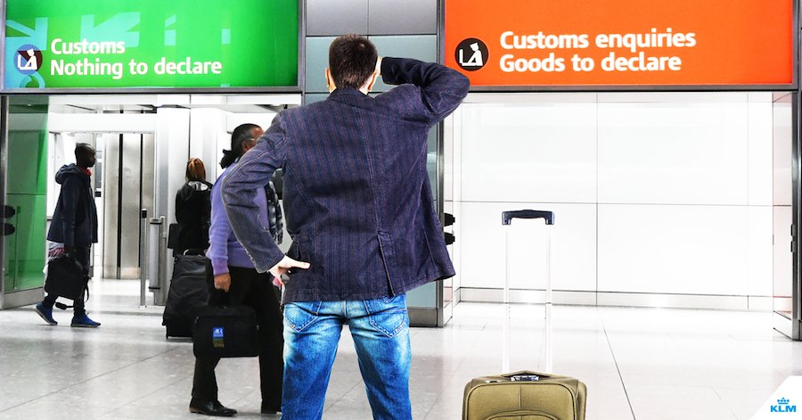 The do's and don'ts of going through customs.