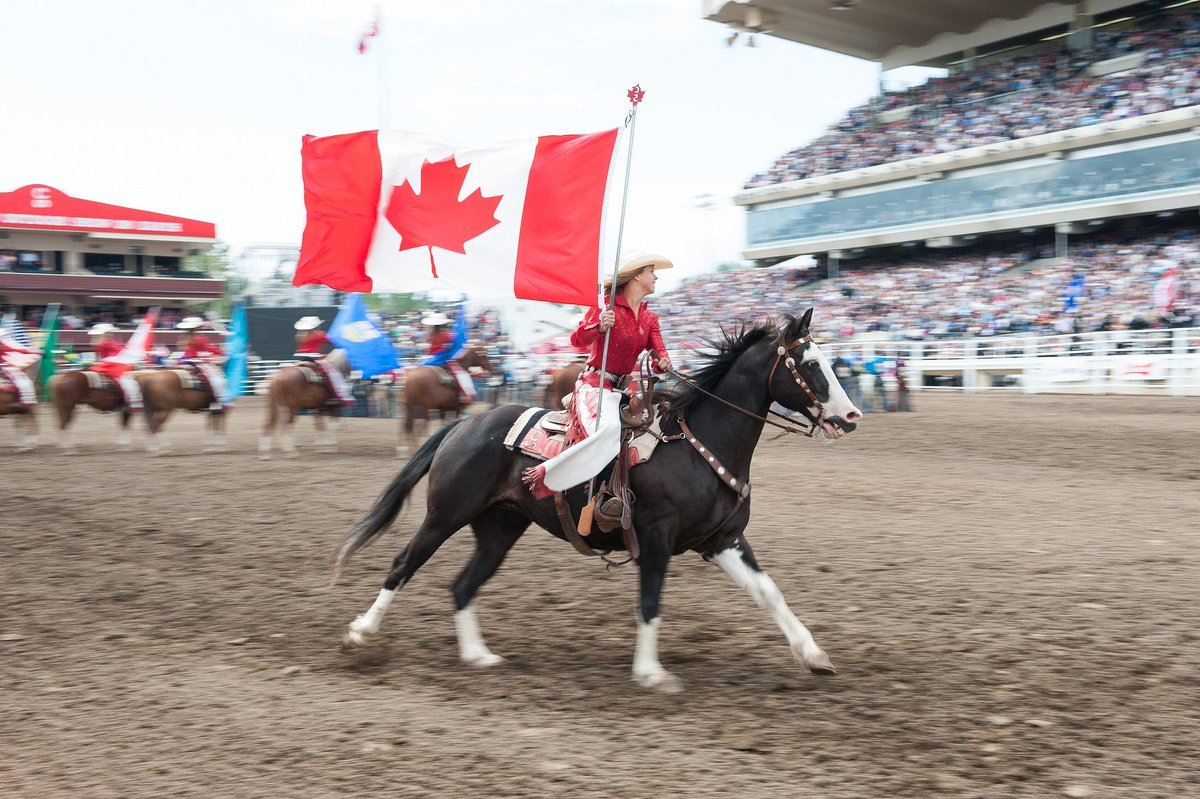 9 events. 10 days of action. There's nothing quite like the rodeo at the @CalgaryStampede.