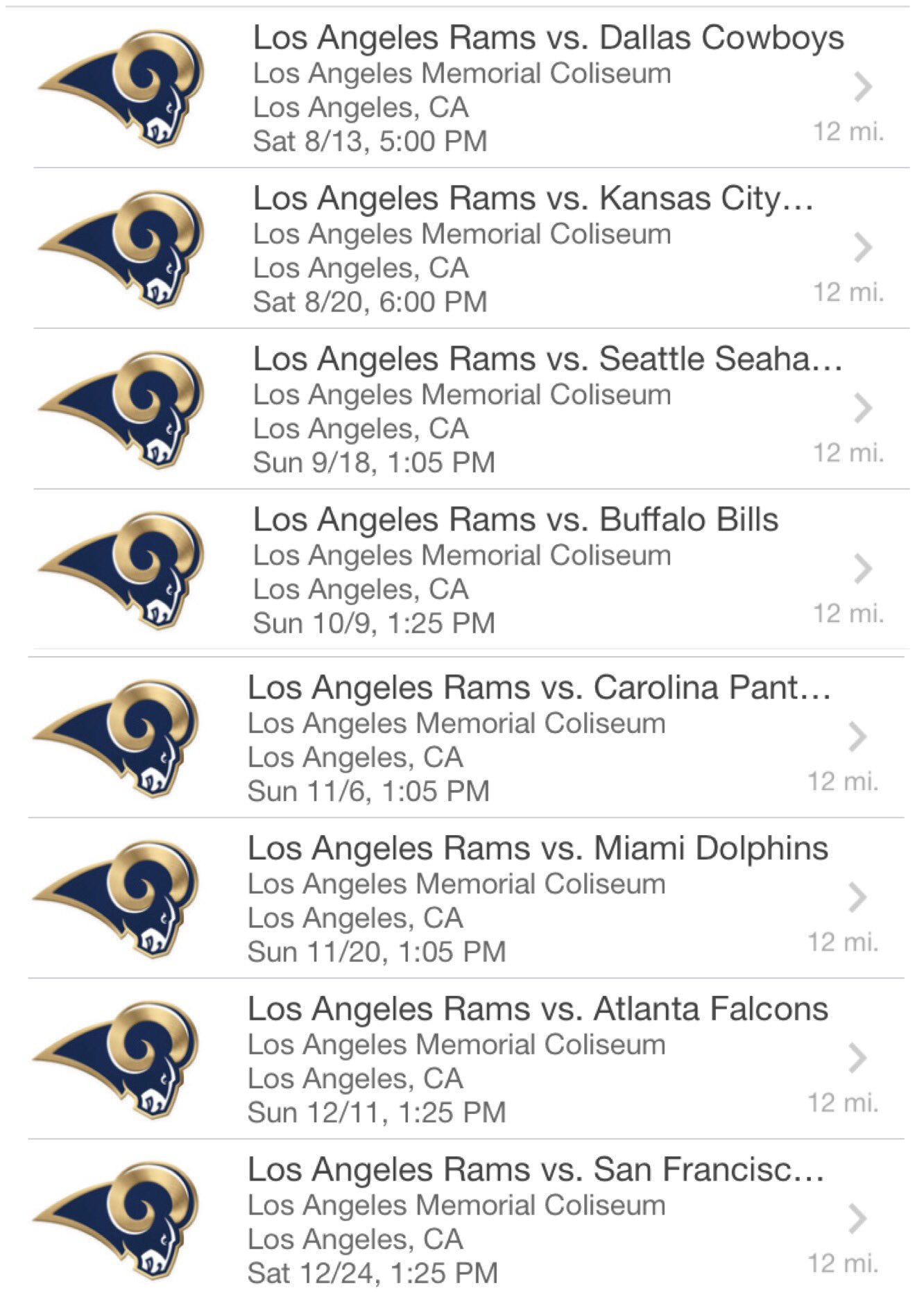 LA @RamsNFL Season Tickets Complete! ������������ #LARams #SeasonTicketHolder https://t.co/XfJUr2RiMP