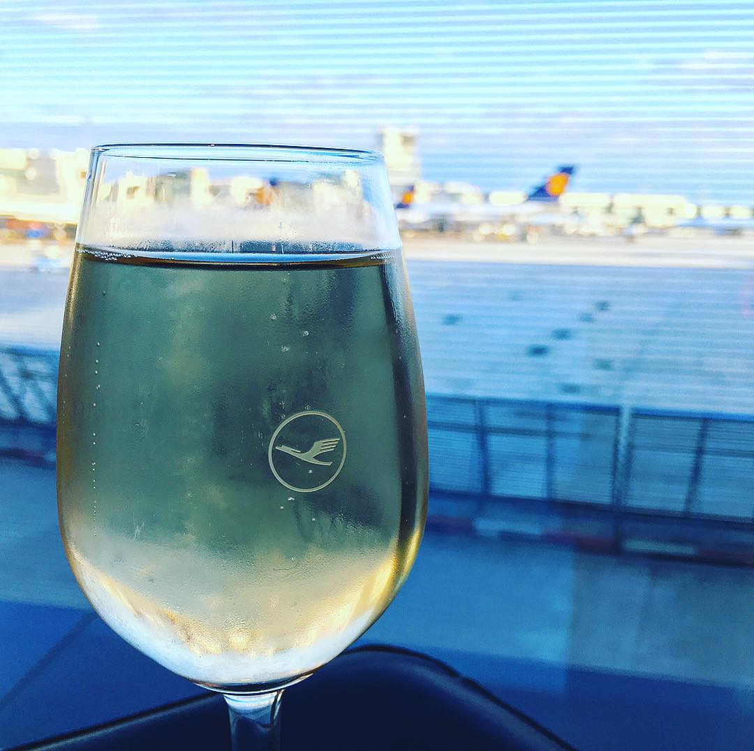 Relax and raise a glass before your flight at one of our lounges.