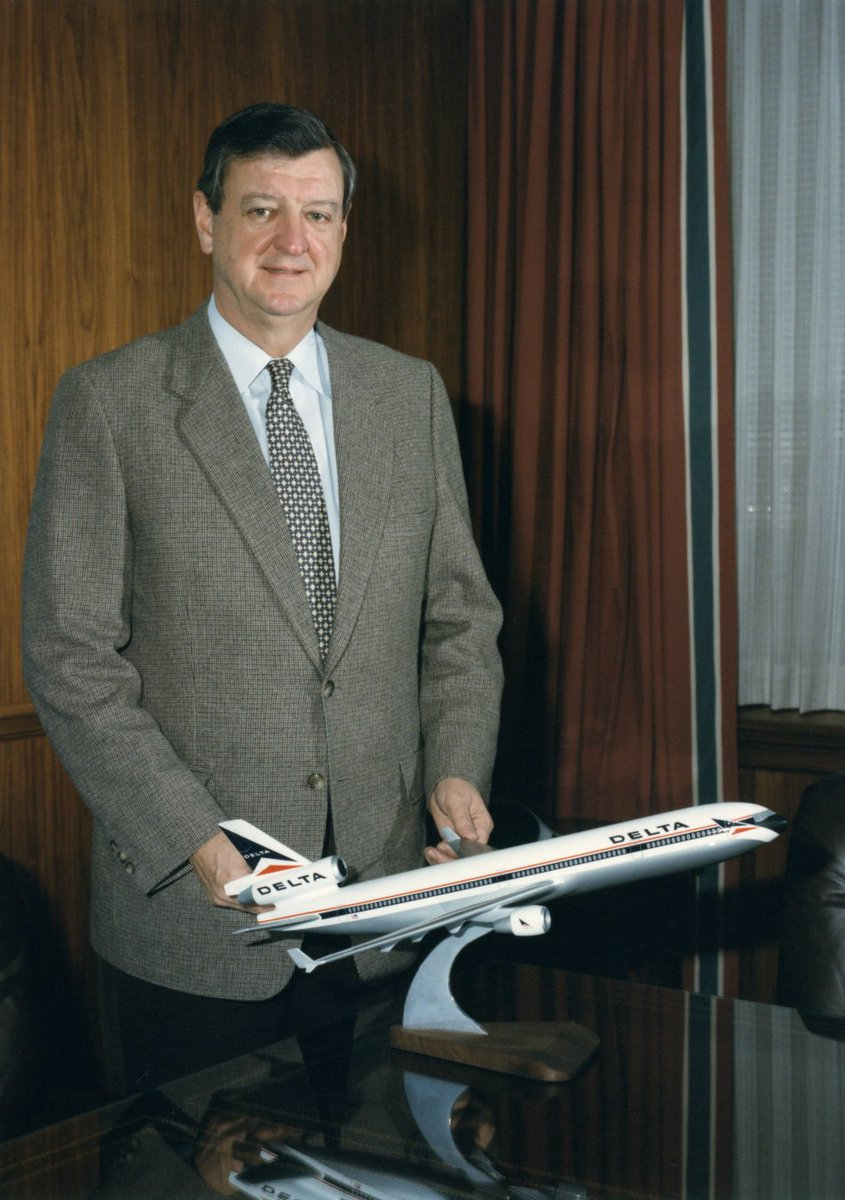 .@Delta remembers respected Delta executive and industry leader, Hollis Harris.