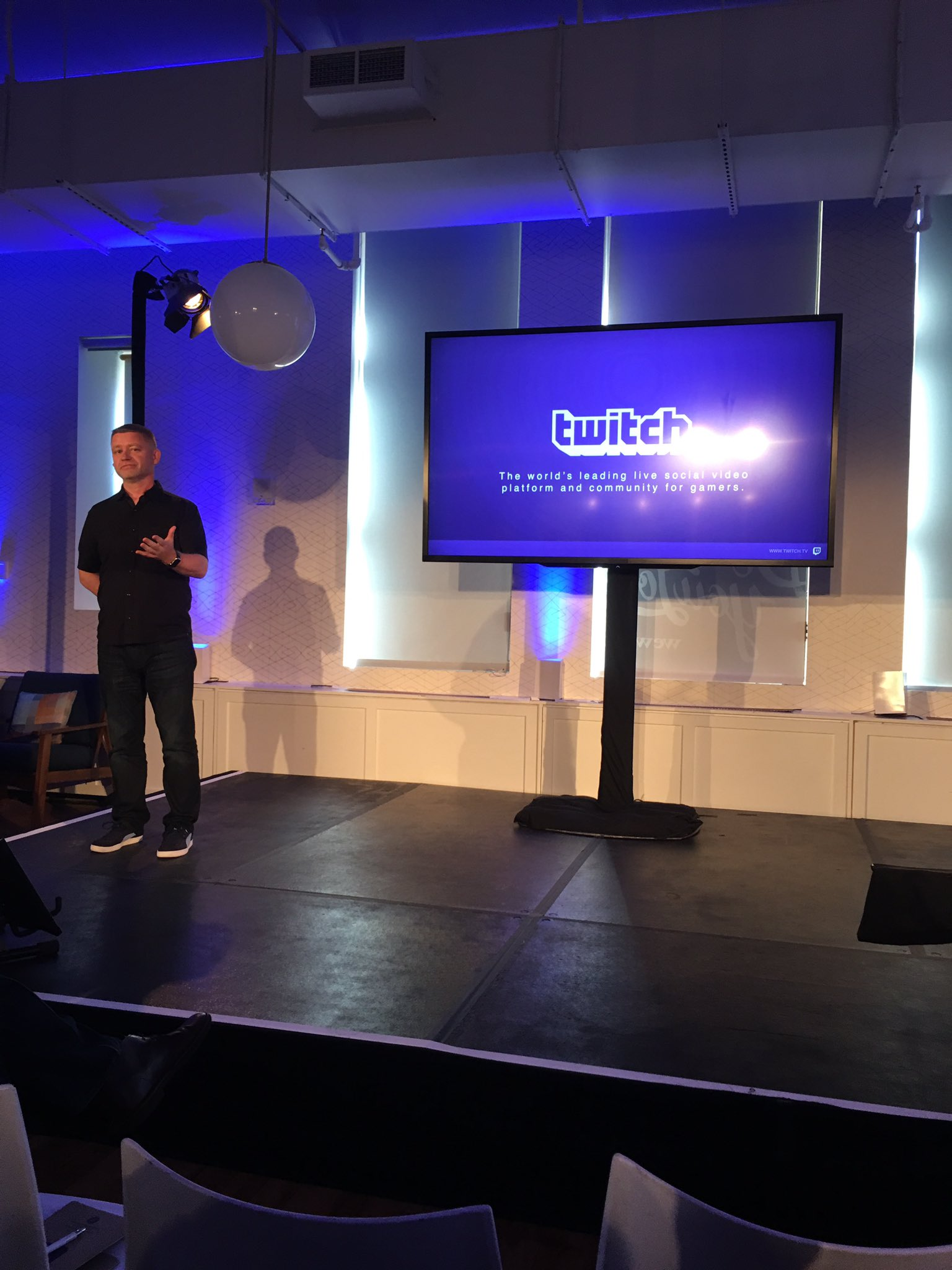 @Twitch: secret sauce-live chat & interaction... #AppFronts https://t.co/7mFVvjmZnk