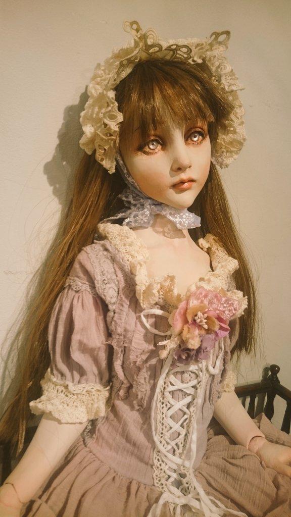 銀座人形館エンジェルドールズにて清水真理人形個展「Romantic」7月15日より開催します。新作の球体関節人形13体を展示します。 https://t.co/qq1mJGWg95