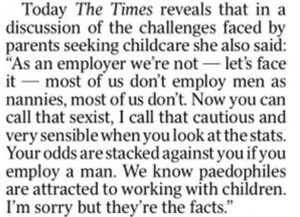 Why were these appalling comments not in original article? Leadsom unfit to be a MP let alone in the cabinet https://t.co/GO5yMcJPuk