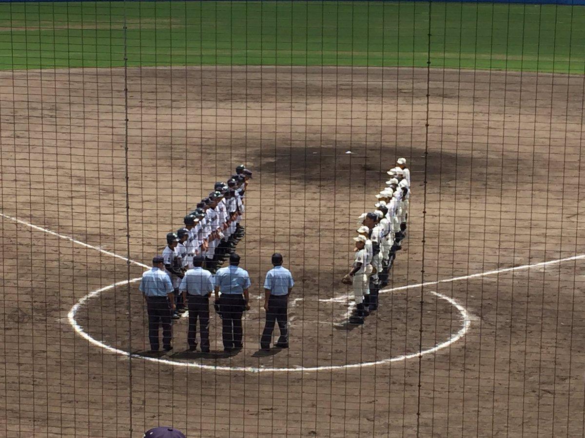 ⚾️小城高校VS塩田工⚾️の試合  9対2で、小城高校の勝利✨✨  おめでとう‼️みんなみんなかっこよかったでござる‼️ https://t.co/p3wCjBWDUR