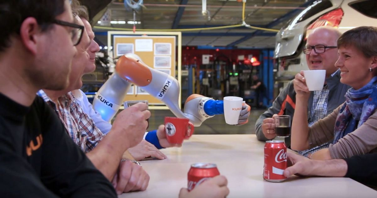 Ford's new robots can build cars, make coffee