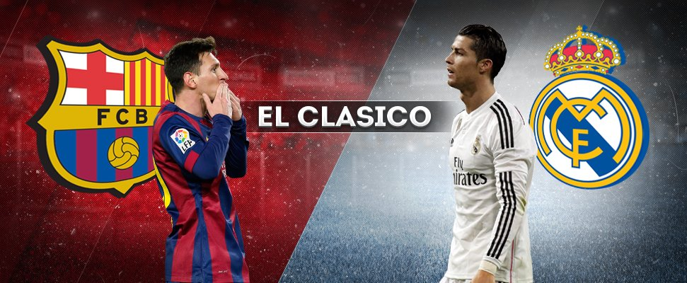 *drum-rolls* #ElClasico in #LaLiga 2016/17:  GW14 Real Madrid v Barcelona  GW33 Barcelona v Real Madrid GW=Gameweek https://t.co/oxSkf1NBIv