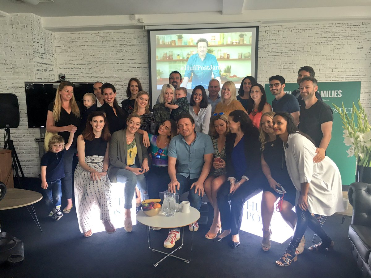 Great to be with this loverly bunch this morning @HuffPostUK #HuffPostJamie https://t.co/V0Sr3uU5VG