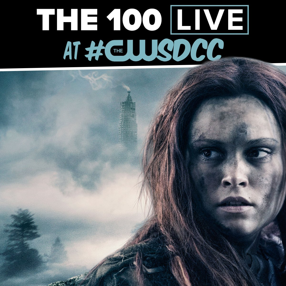 You have questions. They have answers. #The100 will be LIVE from Comic-Con® in one hour: https://t.co/FxSXiizU13 https://t.co/X5eDaX02Y3