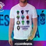 ¡DETENGAN TODO!  SOLO en Cinemas la camiseta oficial de #EscuadronSuicida. ¡Da RT si querés tenerla!  #NosApasiona https://t.co/qANY5ZsJl3
