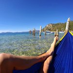 Happy #NationalHammockDay from #RenoTahoe! Nothing better than a hammock view of #LakeTahoe! https://t.co/2PqTM6ZKlO https://t.co/F5Yl1U0Lhf