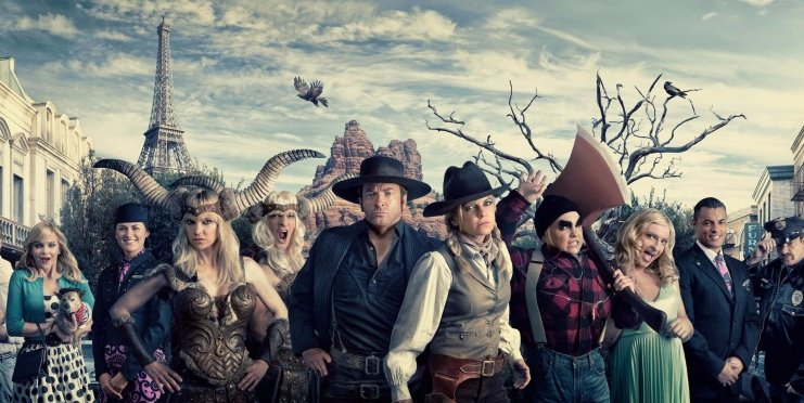 Hilarious @FlyAirNZ Safety Vid with Anna Farris & Rhys Darby Takes Off