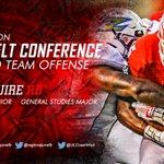 Congratulations Elijah McGuire-2016 Preseason All-Sun Belt Conference Second Team Offense! #GEAUXCajuns #ONEANDONLY https://t.co/U5BVRY2GfB