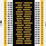 Our @SerieA_TIM 2016/17 fixture list in full. Heres to a great season! #FinoAllaFine #ForzaJuve https://t.co/OXvtO8Vohz