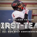 And lastly congrats to Blaise again on being named Preseason All @SunBelt First-Team for Special Teams. #WolvesUp https://t.co/X10FlzrWFI