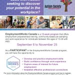 Please share our poster! Were looking to fill the next cycle of the EmploymentWorks Program!! https://t.co/eFCNiMaj07