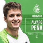 Álvaro Peña RENOVADO. ¡Encantados de que continúes en el Racing, @Alvarope_a! https://t.co/EPGAP9o5nt https://t.co/opVRJ19GVb